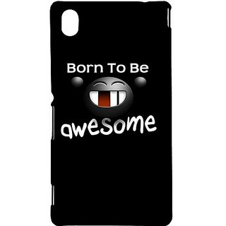 Casotec Quotes Design Hard Back Case Cover For Sony Xperia M4 Aqua gz8006-13015