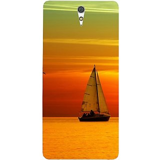 Casotec Sun Set Ship View Design Hard Back Case Cover For Sony Xperia C5 Ultra Dual gz8053-11007