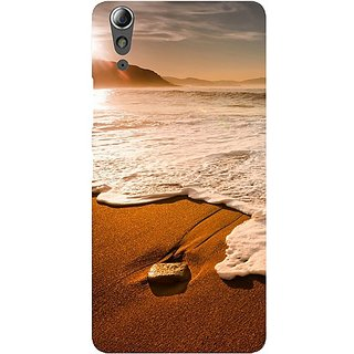 Casotec Sun Set Beach Design Hard Back Case Cover For Lenovo A6000 / A6000 Plus gz8065-11190