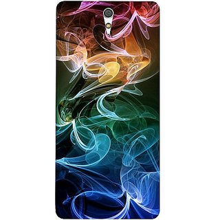 Casotec Smoky Pattern Design Hard Back Case Cover For Sony Xperia C5 Ultra Dual gz8053-13004