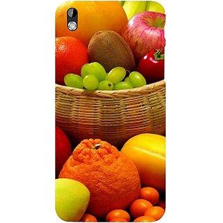 Casotec Fruit Basket Design Hard Back Case Cover For Htc Desire 816 gz8059-11121