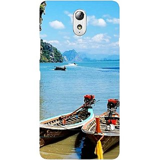 Casotec Sea View Design Hard Back Case Cover For Lenovo Vibe P1M gz8067-11014