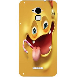 Casotec Smily Design Hard Back Case Cover For Coolpad Note 3 gz8086-13010