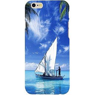 Casotec Indian Ocean Design Hard Back Case Cover For Apple Iphone 6 / 6S gz8001-13086