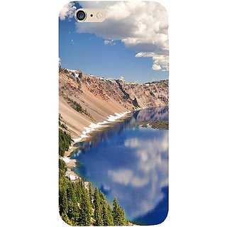 Casotec Crater Lake Design Hard Back Case Cover For Apple Iphone 6 Plus / 6S Plus gz8009-13081