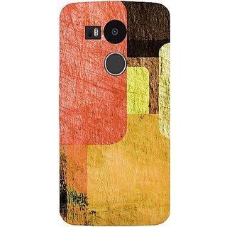 Casotec Vintage Colourfull Pattern Design Hard Back Case Cover For Lg Nexus 5X gz8060-12095