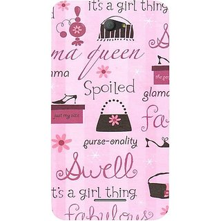 Casotec Its A Girl Thing Design Hard Back Case Cover For Sony Xperia E4 gz8019-12246
