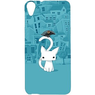 Casotec City Cat Design Hard Back Case Cover For Htc Desire 820 gz8022-12292