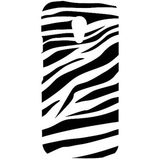 Casotec Black And White Design Hard Back Case Cover For Motorola Moto G 2Nd Generation gz8025-12149