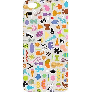 Casotec Icons Design Hard Back Case Cover For Huawei Honor 6 gz8029-12336