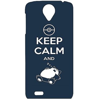 Casotec Sleep Pattern Design Hard Back Case Cover For Lenovo S820 gz8032-12102