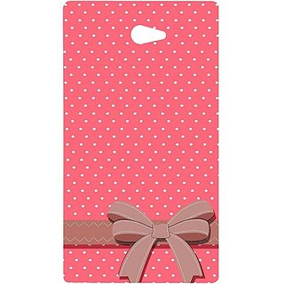 Casotec Gift Design Hard Back Case Cover For Sony Xperia M2 gz8039-12232
