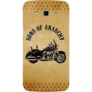 Casotec Rock The Music Pattern Design Hard Back Case Cover For Samsung Galaxy Grand 2 G7102 / G7105 gz8048-12097