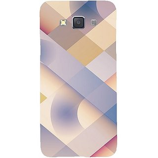 Casotec Striped Design Hard Back Case Cover For Samsung Galaxy A3 gz8049-12118
