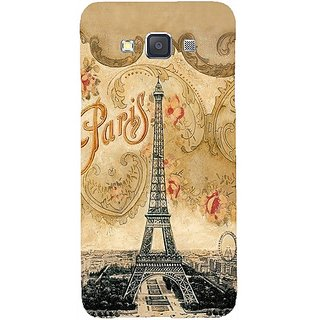 Casotec Vintage Paris Tower Design Hard Back Case Cover For Samsung Galaxy A3 gz8049-12120