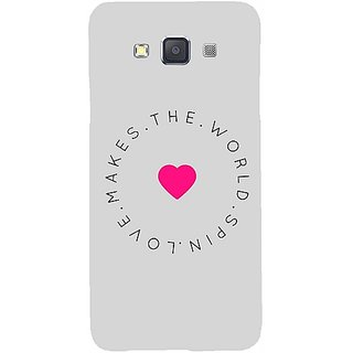 Casotec Love Pattern Design Hard Back Case Cover For Samsung Galaxy A5 gz8050-12103