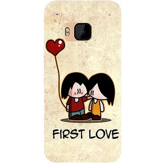 Casotec First Love Design Hard Back Case Cover For Htc One M9 gz8058-11184