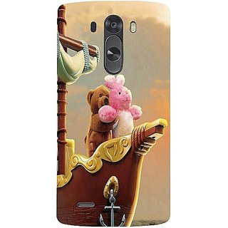 Casotec Funny Titanic Design Hard Back Case Cover For Lg G3 Mini gz8099-11182