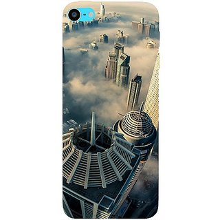 Casotec City Scapes Design Hard Back Case Cover For Apple Ipod Touch 6Th Generation gz8109-11188