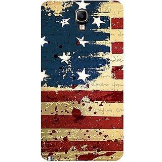 Casotec Usa Flag Design Hard Back Case Cover For Samsung Galaxy Note 3 Neo gz8111-11015