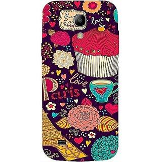 Casotec Paris Flower Love Design Hard Back Case Cover For Samsung Galaxy S4 Mini gz8097-12067