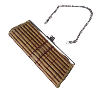 Onlineshoppee Antique Handcrafted Clutch & Earring (Option 1)