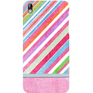 Casotec Pink Source Pattern Print Design Hard Back Case Cover For Htc Desire 816 gz8059-12410