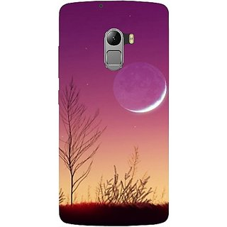 Casotec Moon View Design Hard Back Case Cover For Lenovo K4 Note gz8115-11017