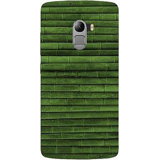 Casotec Bamboo Design Hard Back Case Cover For Lenovo K4 Note gz8115-13213