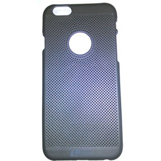GROVERS MOBILE CARE BLACK GREY FIBER IPHONE 6 BACK COVER