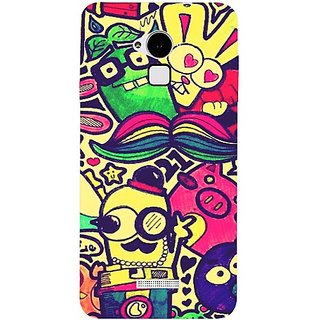 Casotec Hello Cartoons Pattern Print Design Hard Back Case Cover For Coolpad Note 3 gz8086-12383