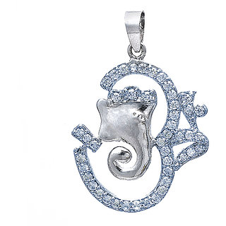 Ganesh pendant sterling silver (Anairas Jewels )