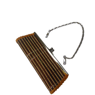 Onlineshoppee Handcrafted Clutch & Earring