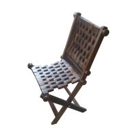 Onlineshoppee Wooden Foldable Chair (Option 1)