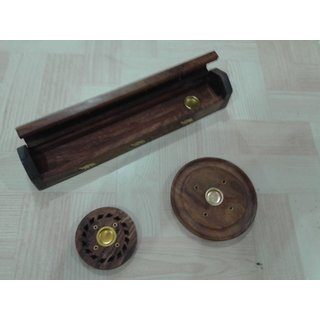 Onlineshoppee Wooden Pooja Accessories