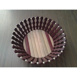 Onlineshoppee Wooden Fruit Basket (Option 3)