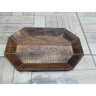Onlineshoppee Wooden Handcrafted Serving Tray (Option 2)