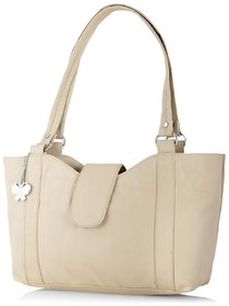 Butterflies Cream Handbag