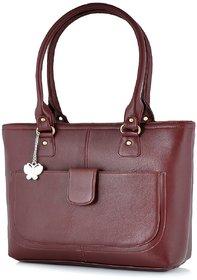 Butterflies Maroon  Handbag