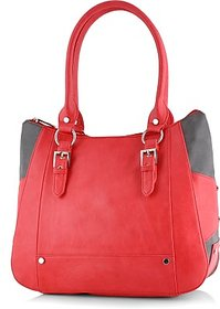 Butterflies Red Handbag