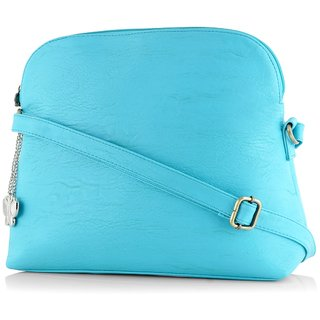 Butterflies Sky Blue Handbag