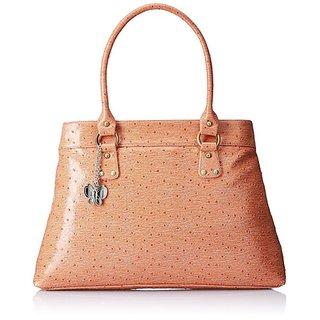 Butterflies Orange Handbag