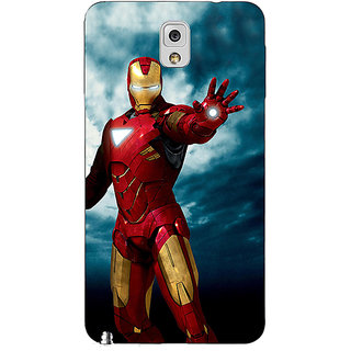 EYP Superheroes Ironman Back Cover Case For Samsung Galaxy Note 3 N9000 90031