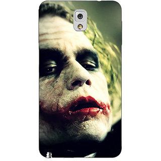 EYP Villain Joker Back Cover Case For Samsung Galaxy Note 3 N9000 90036