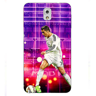 EYP Cristiano Ronaldo Real Madrid Back Cover Case For Samsung Galaxy Note 3 N9000 90304