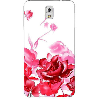 EYP Floral Pattern Back Cover Case For Samsung Galaxy Note 3 N9000 91410