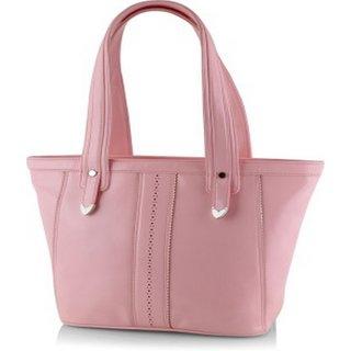 Butterflies Baby Pink Shoulder Bag