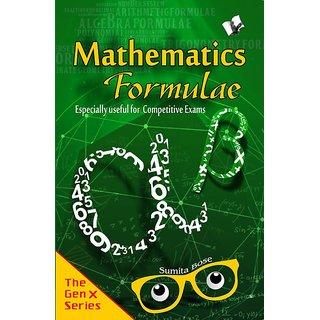 Mathemaics Formulae