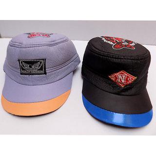 Buy Couple Of Black Violet Colour Rain Caps For Rainy Season Online ... 0aaf9f1ed6b