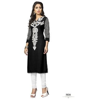 Women Cotton Straight Long Kurta